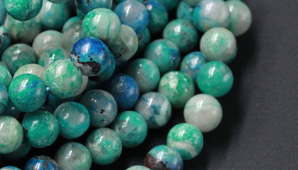 Chrysocolla_beads