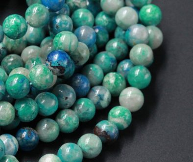 Chrysocolla_beads