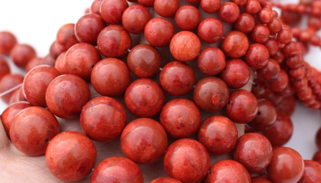 coral-beads