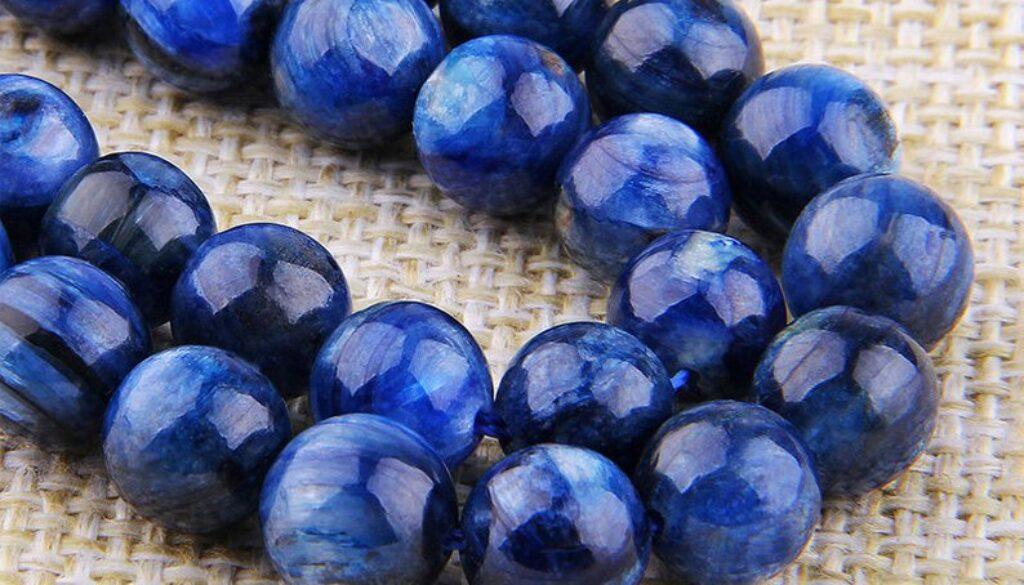 kyanite-beads