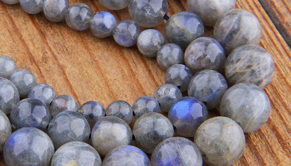 labradorite-beads