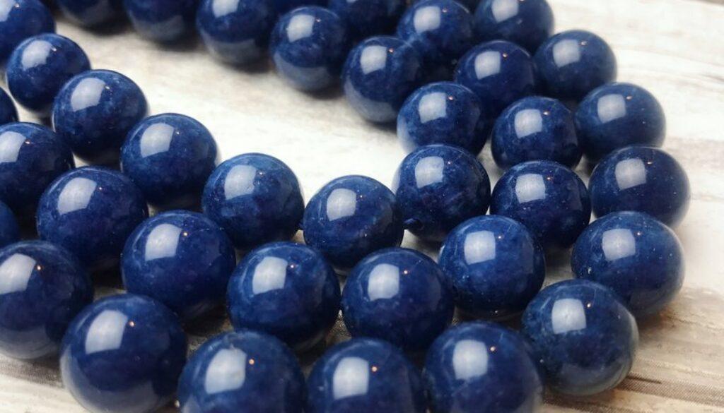 sapphire-beads