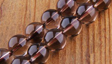 smoky-quartz-beads
