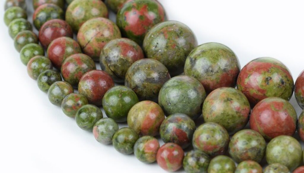 unakite-beads